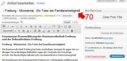 Post Title Counter WordPress Plugin