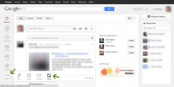 Google+ Seite anlegen