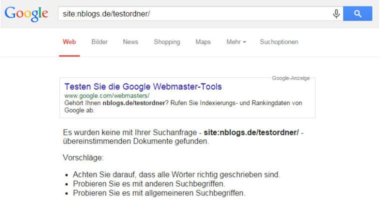 SEO Nofollow-Test: Google folgt den Links nicht!