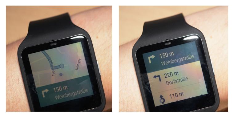 Smartwatch: Navigation und Routenplaner