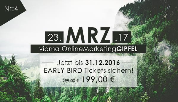 vioma OnlineMarketingGIPFEL Online Marketing Veranstaltung